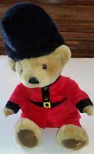 Harrods Knightsbridge Queens Palace Guard Teddy Bear Plush Soft Toy