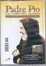 PADRE PIO - UN UOMO DEL MONDO DVD San Paolo 2002 NUOVO SIGILLATO