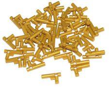 LEGO LOT 50 NEW PEARL GOLD MINIFIGURE UTENSIL HOSE NOZZLE ELABORATE GOLDEN GUN