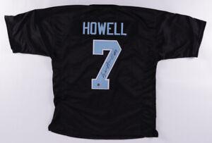 Sam Howell Signed North Carolina Jersey (Beckett Holo) Tar Heels 2021 Junior Q.B