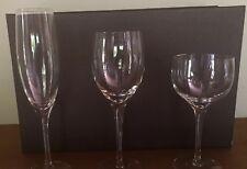 Orrefors crystal wine glasses - Illusion