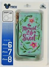 Disney Exclusive Mermaid Life Is Sweet Wallet Apple Iphone 6S/7/8 Cellphone Case