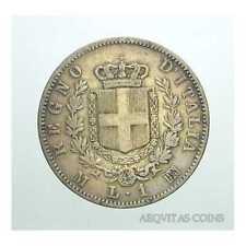 Regno d'Italia - Vittorio Emanuele II -1 Lira 1863 M