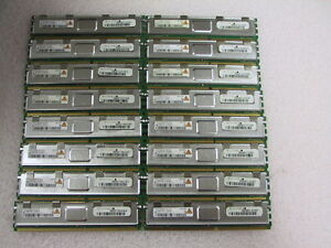 32G 16x2G SuperMicro 2Rx4 PC2-5300F Server Memory HYS72T256920HFA-3S-B