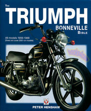TRIUMPH BONNEVILLE BIBLE BOOK HENSHAW