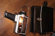 Revue S 2M automatic T-T-L camera 8mm super8 + original bag + filter 49 R1,5