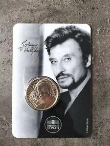 Médaille Blsiter Coincard Johnny HALLYDAY 2020 Le portrait 4317 ex Epuisé