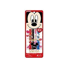Zebra gel ballpoint pen Sarasa clip Disney 4-color set A from Japan