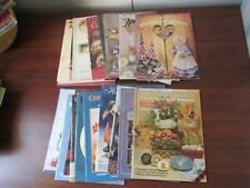 Lot of 20 Tole Painting Books w/Patterns Country Charm Heart Dumplins #A14