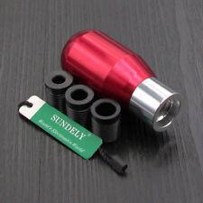 High Quality Universal Aluminum Sport 5 Speed Manual Car Gear Shift Knob Red AU