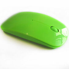 2.4GHz Ultrathin Colors Wireless USB Optical Mice Mouse For PC Laptop Computer