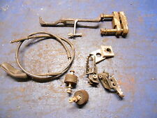 1989 Yamaha YZ125 Parts Lot Clutch Cable, Radiator Stay , Swingarms Adjusters