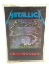 Metallica - Creeping Death [Cassette tape, UK Issue 1984 Music For Nations]