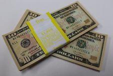 50 New Uncirculated Ten Dollar Bills $10 Notes  2013
