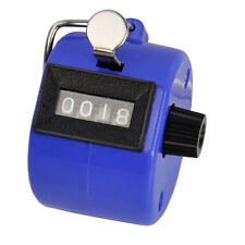 Hand Tally Counter Counting Number Mechanical Manual Palm Clicker Click 4 Digit