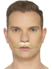 The English Gentleman Moustache Hand Knotted Make Up Fancy Dress Accessory