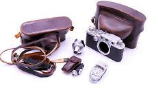 Screw Mount bundle feauring Leica IIIf Red Dial