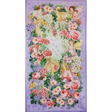 Flower Fairy, Fairy Dream 100% Cotton Quilting Fabric Panel Wall Hanging