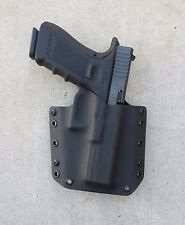OWB Black Kydex Holster Glock 17/22/31