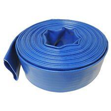 "1.5"" x 300' - Agricultural Grade PVC LayFlat Water Discharge & Backwash Hose"