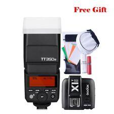 For Nikon D700 D7500 Godox TT350N 2.4G TTL Camera Flash Speedlite X1T-N Trigger