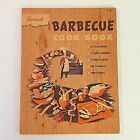 Vintage 1956 Sunset Barbecue Cookbook Trade Paperback 6th Printing Recipe Guide