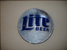 VINTAGE MILLER LITE BEER SIGN BUBBLE MIRROR MILLER BREWING CO MILWAUKEE, WI