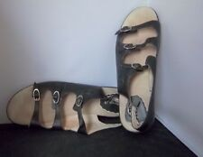 PROPET - Women's Black Leather Slingback 3 Strap Sandals - SIZE 10D
