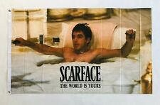 Scarface tub 3ftx5ft flag banner limited mafia tony montana money collection new