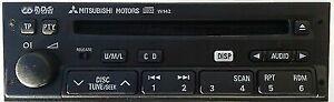 MITSUBISHI W124 CD PLAYER RADIO Plug n Play CARISMA SHOGUN PAJERO SHOGUN