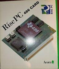 Boxed Acorn PC486 PC Card for Acorn RiscPC