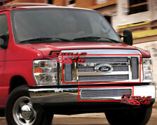 Aluminum Billet Grille Combo For 08-14 Ford Econoline Van/E-Series