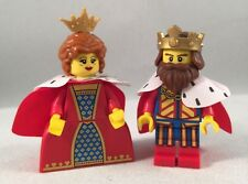 LEGO - Collectible Minifigures - Classic King & Queen - Minifig / Mini Figure