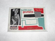 2011 Americana DOROTHY LAMOUR #11 Matinee Legends Worn Relic/499 ROAD to RIO