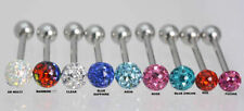 Resin Tongue Surgical Steel Body Piercing Jewellery