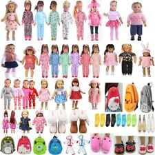 """For 18"""" American Girl Our Generation My Life Dolls Clothes Dress Jeans Set"""
