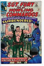 1966 MARVEL SGT. FURY AND HIS HOWLING COMMANDOS #30 VERY FINE-  B46