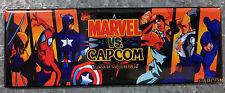 Marvel Vs Capcom Arcade Game Marquee Fridge Magnet