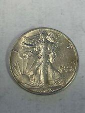 50c Liberty Walking Half Dollar 1946-S AU+