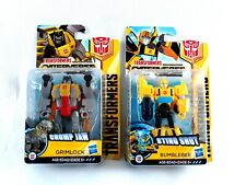 Transformers Cyberverse Grimlock and Bumblebee Lot of 2