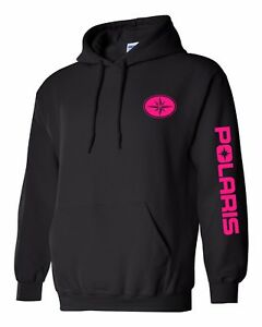 POLARIS style SNOWMOBILE Hoodie ATV Sweatshirt UP TO 5X! Choose Design Color!