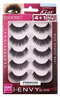 KISS I ENVY JUICY VOLUME 16 VALUE PACK 4+1 LASHES