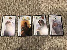 7 Wonders Leaders 4 Card Promo Set - Nimrod, Esteban, Louis, and Stevie