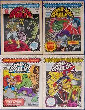 JOURNEY INTO MYSTERY #112~THOR VS HULK~SPIDER-MAN~MARVEL COMICS UK~SABRA~1980
