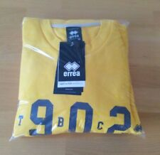 ERREA MARCUS S//S SHIRT YELLOW//BLUE  SIZES ADULT S TO  XL  BNWT RRP £19.50