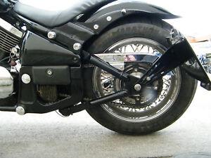 CNC-Alu seitlicher Kennzeichenhalter für Kawasaki VN 800 / 900 auch Classic