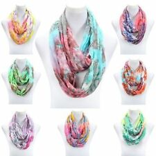 Polyester Paisley Scarves and Wraps for Women