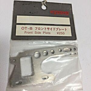 Kyosho OT- 8 FRONT SIDE PLATE Sealed Unused NOS Hardware Kit Vintage OG