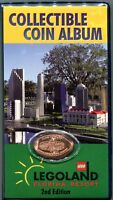 Retired 2nd Edition Legoland Florida Penny Book With Coin Available Nowhere Else
