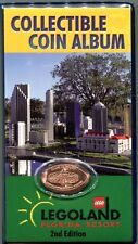 Legoland Florida Souvenir Pressed Penny Book With Coin Available Nowhere Else